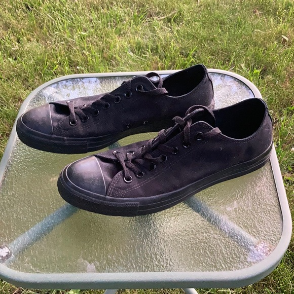 Converse Black Sneakers Size 10